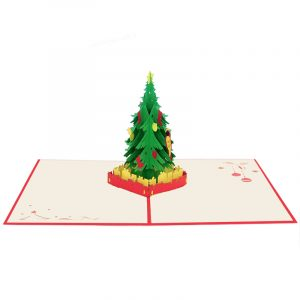 Christmas tree pop up cards 2018-pop up cards manufacturer-pop up cards supplier (1)
