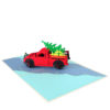 Christmas truck pop up card-Christmas pop up cards 2018 supplier-pop up cards manufacturer (2)