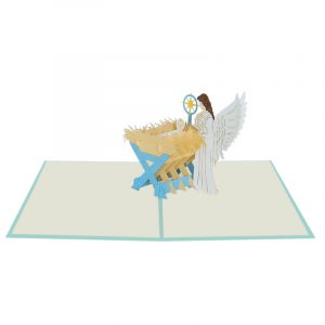 Nativity Pop Up Card-Christmas pop up cards wholesale-Pop up cards manufacturer (2)
