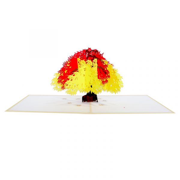 FL057-Maple tree pop up card-pop up cards wholesale-pop up cards manufacturer-CharmPop (3)