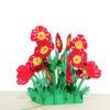 FL058-Poppy flower pop up cards-poppy greeting cards wholesale-CharmPop (1)