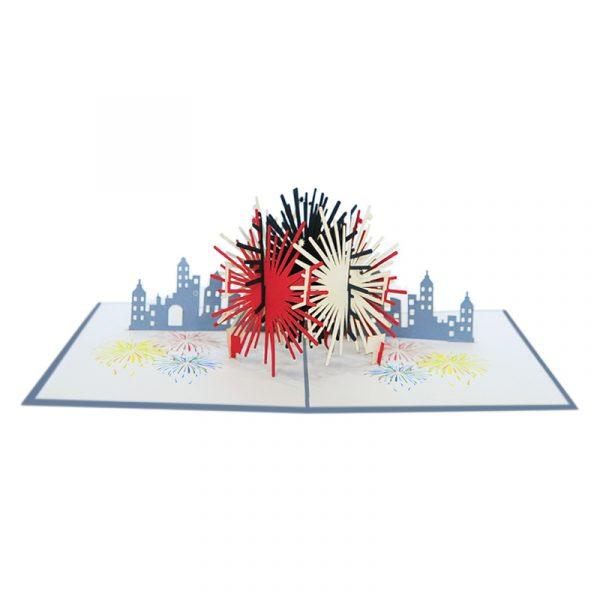 FS116-fireworks pop up card-pop up cards wholesale-pop up cards manufacturer-CharmPop (1)