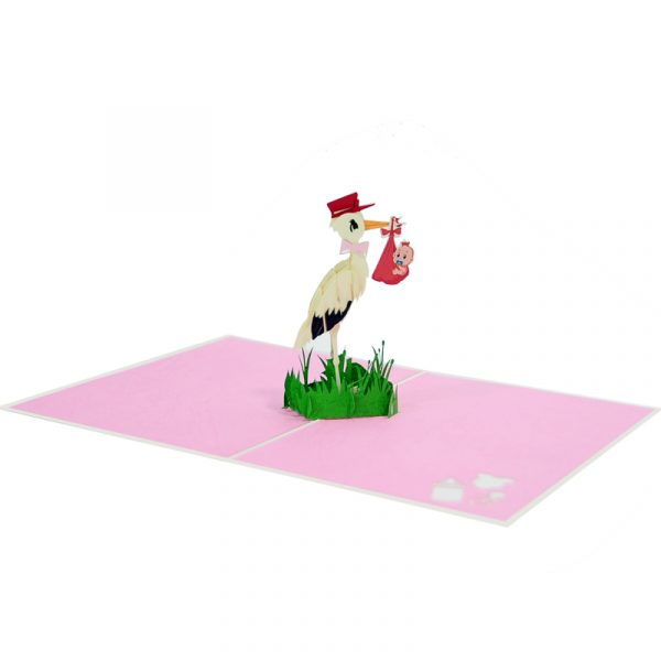Baby-stork-pop-up-card-Newbaby-3D-greeting-cards-supplier-CharmPop Cards (4)