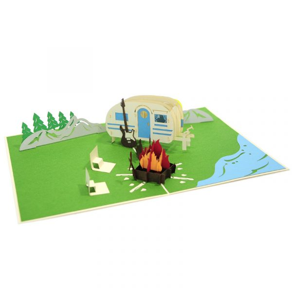 Camping-trip-pop-up-card-Summer-3D-greeting-cards-supplier-CharmPop-Cards-(2)