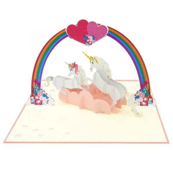 Love-unicorn-couple-pop-up-card-Valentine-3D-handmade-card-supplier-CharmPop-Cards (2)