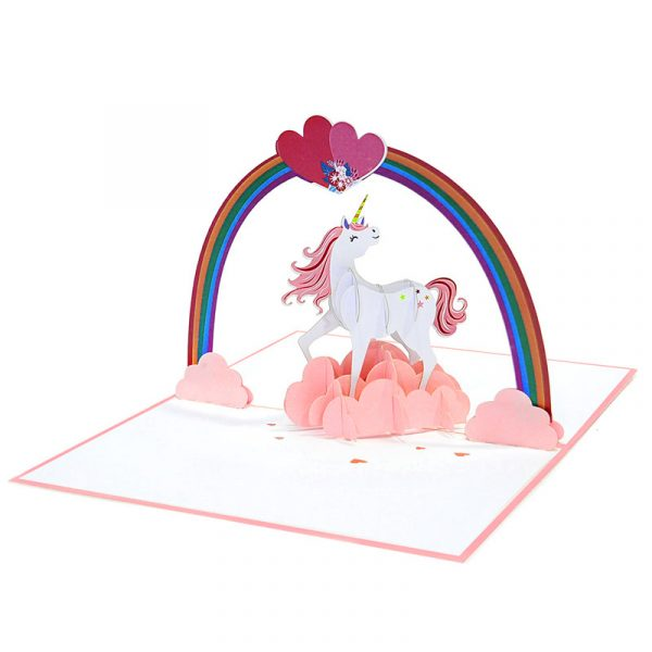 Love-unicorn-pop-up-card-Valentine-3D-handmade-card-supplier-CharmPop-Cards-(4)