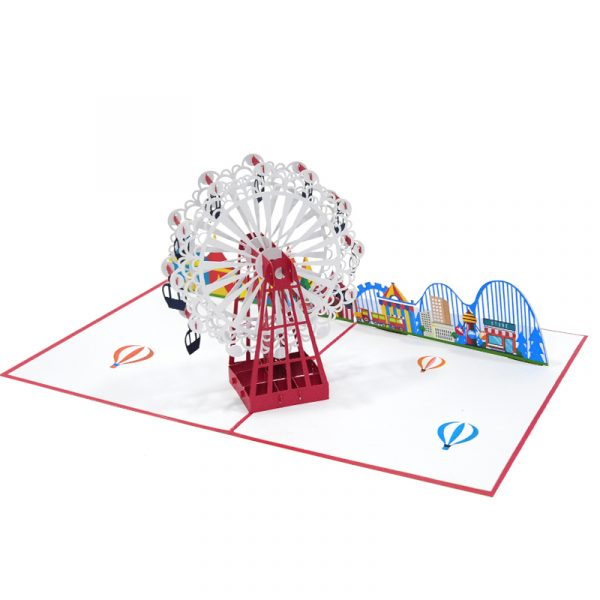 New-ferris-wheel-pop-up-card-summer-pop-up-card-manufacturer-CharmPop-Cards (4)