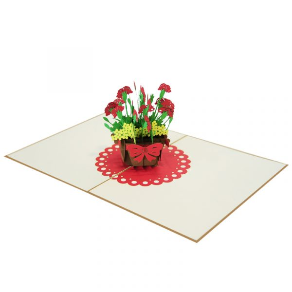 Pansy-pot-pop-up-card-3D-card-for-all-occasions-supplier-CharmPop Cards (4)