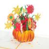 Pumpkin flower pot-pop-up card-Thanksgiving-3D-greeting-cards-wholesale-CharmPop Cards (2)