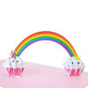 Rainbow-cupcake birthday-pop-up-card-Birthday-3D-cards-manufacturer-CharmPop Cards (1)