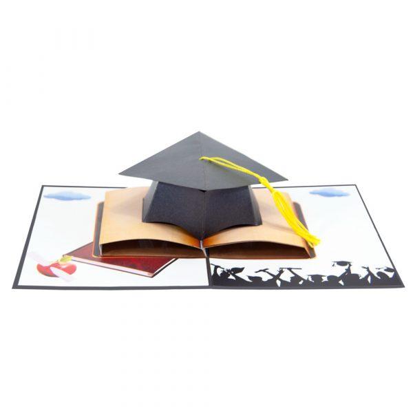 Graduation-hat-pop-up-cards-3d-cards-wholesales-overview