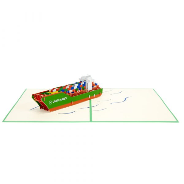 custom cargo ships-3d cards supplier-overview