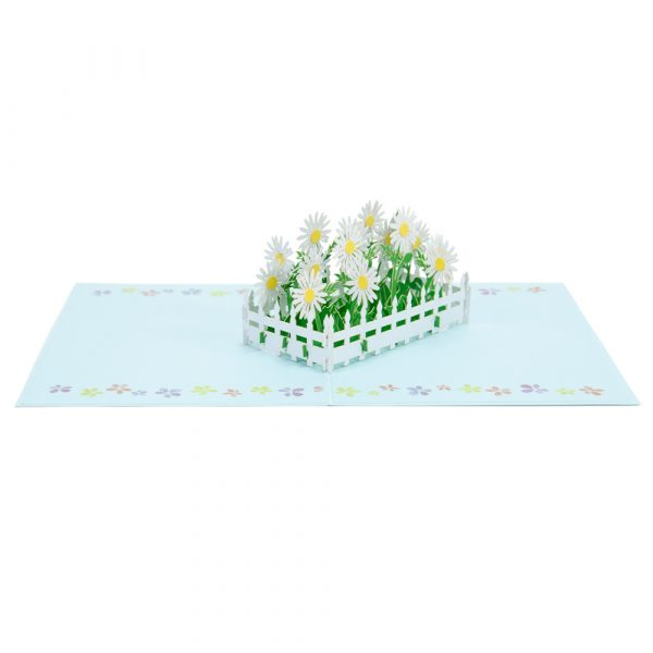 daisy pop up cards-3d pop up cards supplier-overview