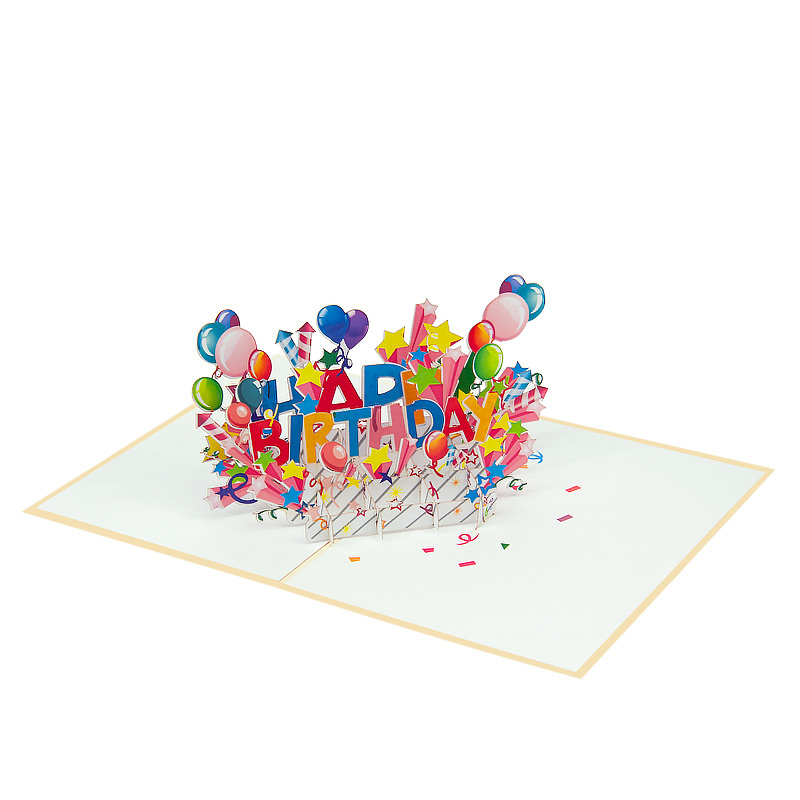 happy birthday cake pop up cardd birthday cake pop up cards