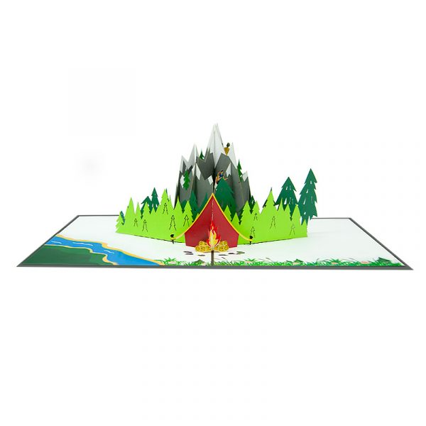 mountain-hiking-pop-up-cards-3d-cards-manufacturer-front
