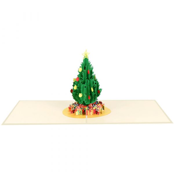 Christmas-tree-pop-up-cards-manufacturer-3d-cards-suppliers-front