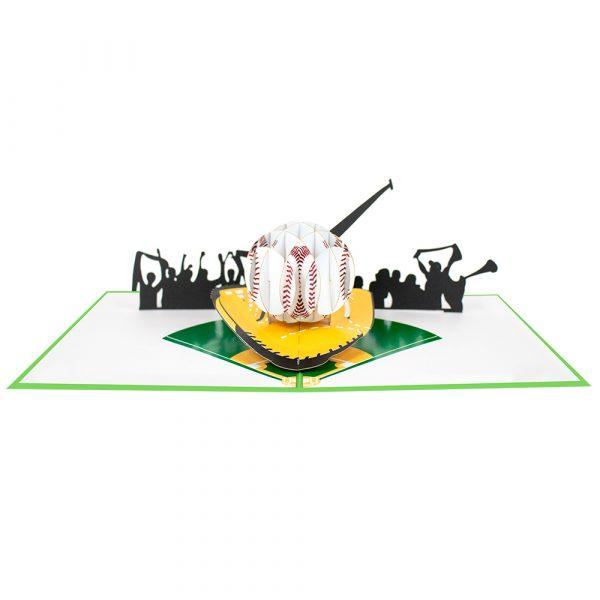baseball pop up cards-3d cards manufacturer-overview