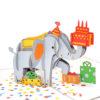 Elephent-Birthday-Pop-Up-Cards-Details-3d-handmade-cards-supplier