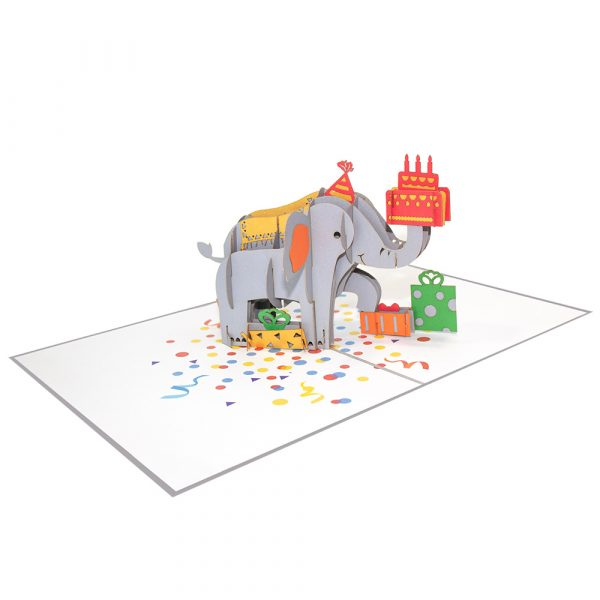 Elephent-Birthday-Pop-Up-Cards-Overview-3d-handmade-cards-supplier