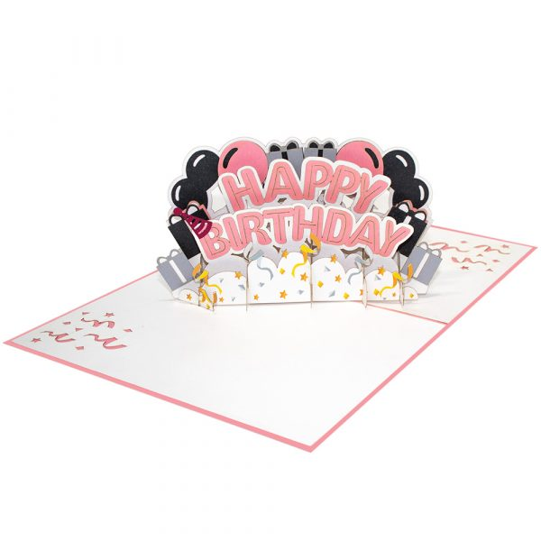 Happy-Birthday-Text-Pop-Up-Cards-Overview-3d-handmade-cards-manufacture-vietnam
