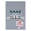Colonial House Pop Up Cards Cover