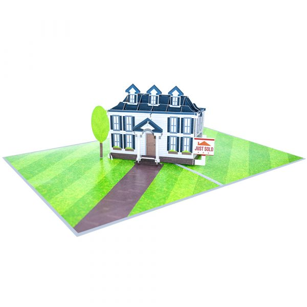 Colonial House Pop Up Cards Overview