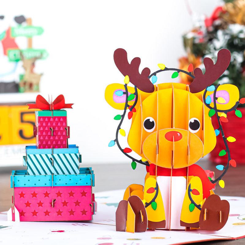 3d pop up christmas cards